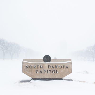 Governor Closes North Dakota Due to Winter Storm