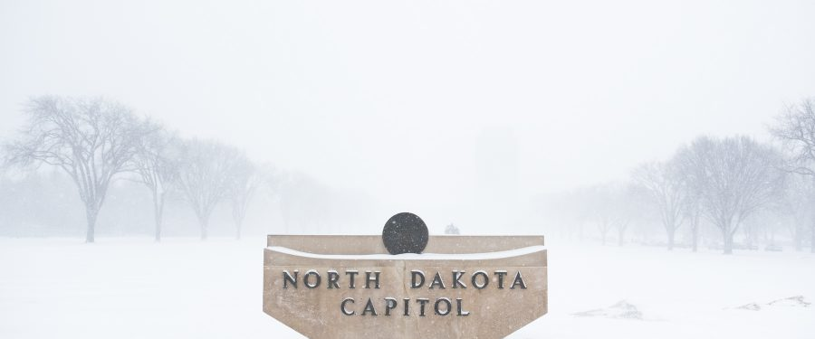 Governor Closes North Dakota Due to Winter Storm